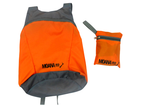 Moana Rd Foldable Back Pack Orange