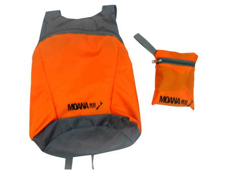 Moana Rd Foldable Back Pack Orange