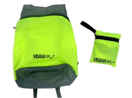 Moana Rd Foldable Back Pack Yellow