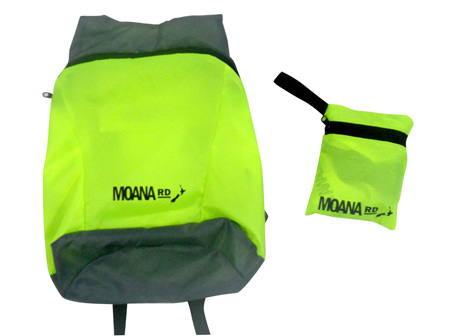 Moana Rd Foldable Back Pack Yellow