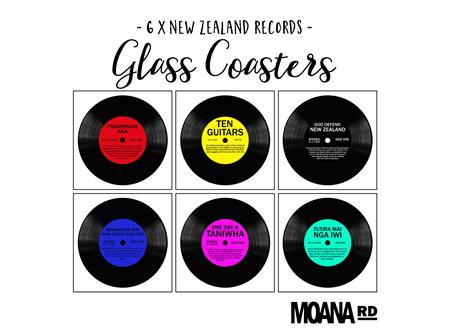 Moana Rd Glass Coasters NZ Records