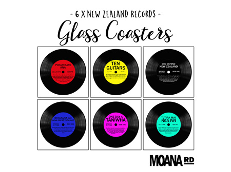 Moana Rd Glass Coasters NZ Records