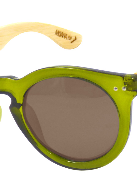Moana Rd Grace Kelly Olive Green Wooden Arms 3009