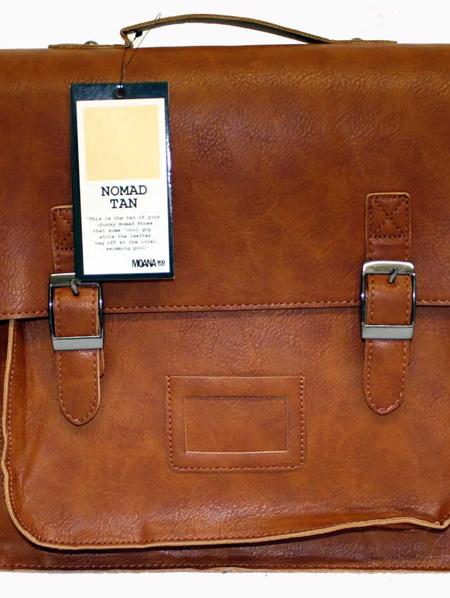 Moana Rd High School Bag Nomad Tan 874