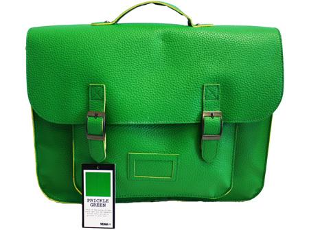 Moana Rd High School Bag Prickle Green