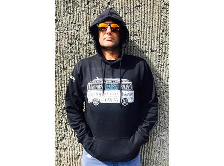 Moana Rd Hoodies NZ Surfing Black L