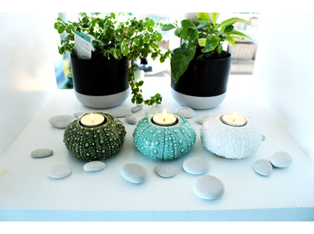 Moana Rd Kina Tealight Green