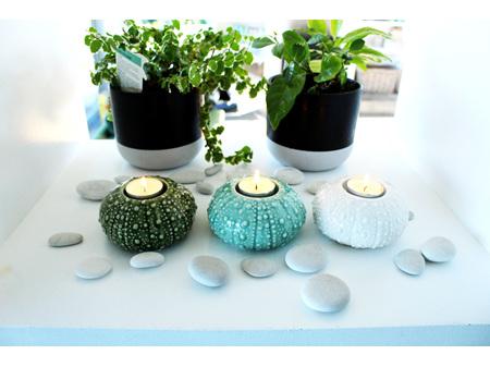Moana Rd Kina Tealight Green