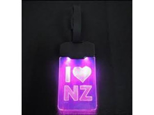 Moana Rd Light Luggage Tag Up I Heart NZ
