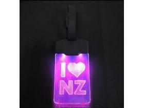 Moana Rd Light Luggage Tag Up I Heart NZ