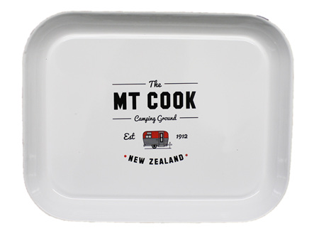 Moana Rd Mt Cook Camping Tray