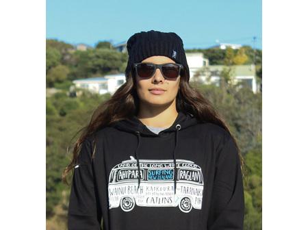 Moana Rd NZ Surfing Hoodie Black M