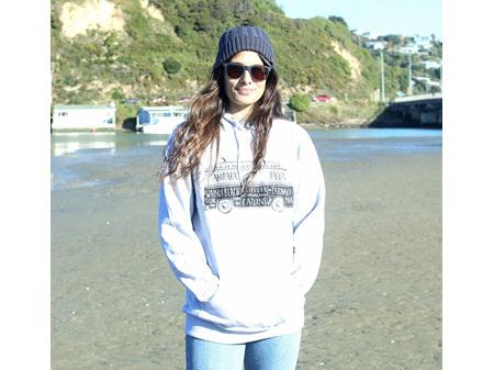 Moana Rd NZ Surfing Hoodie Grey L