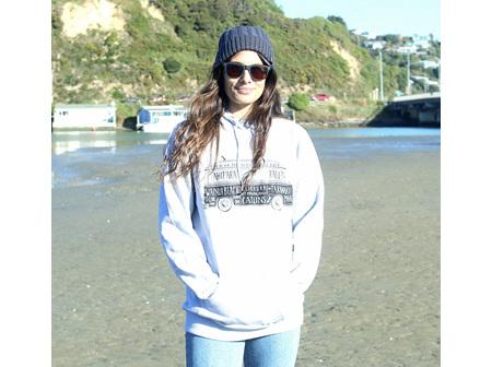Moana Rd NZ Surfing Hoodie Grey XS