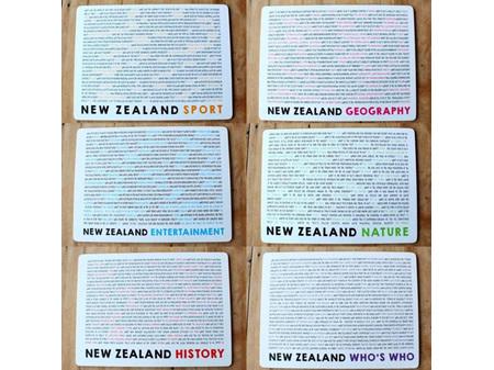 Moana Rd Placemats NZ Quiz