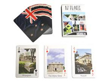 Moana Rd Playing Cards NZ Places
