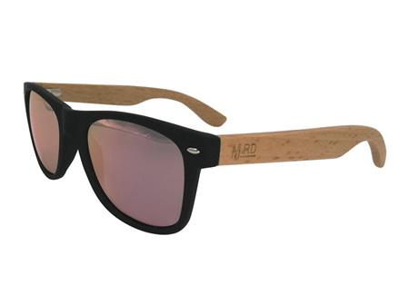 Moana Rd Sunglasses 50/50 Black & Pink