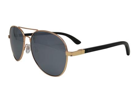 Moana Rd Sunglasses Aviator Wolfman Silver Lens