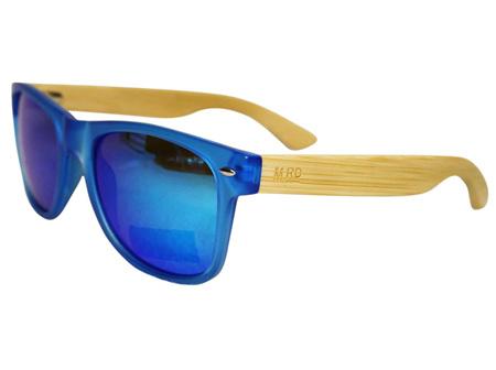 Moana Rd Sunglasses Blue with Reflective Lens