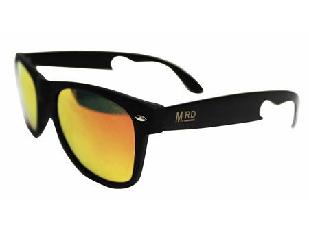 Moana Rd Sunglasses Bottle Opener Yellow Red Lens