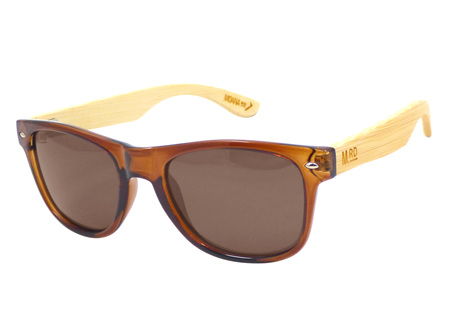 Moana Rd Sunglasses Brown with Wood Arms