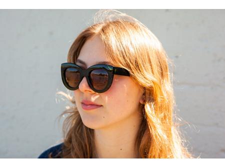 Moana Rd Sunglasses Elizabeth Taylor Green