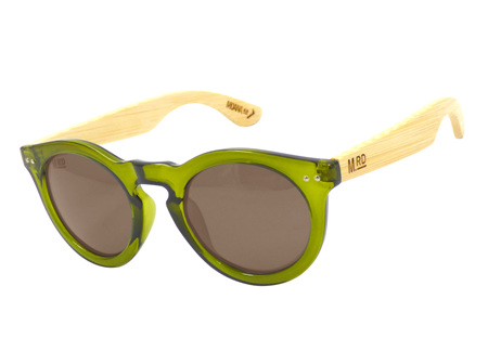 Moana Rd Sunglasses Grace Kelly Olive Green Wood Arms