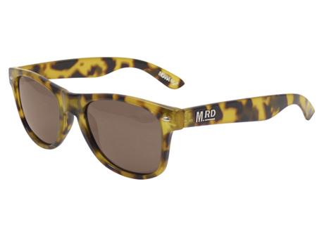 Moana Rd Sunglasses Plastic Fantastic Yellow Tortoiseshell