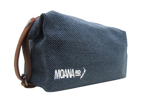 Moana Rd Toilet Bag Canvas Blue