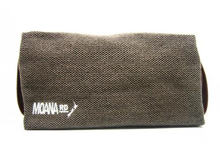 Moana Rd Toilet Bag Canvas Brown