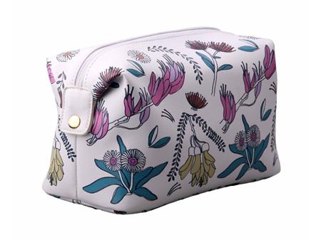Moana Rd Toilet Bag NZ Flowers Colour