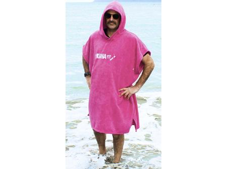 Moana Rd Towel Hoodie Kids Pink