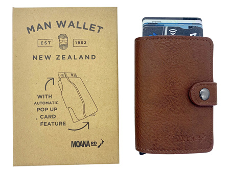 Moana Rd Wallet Man Tan