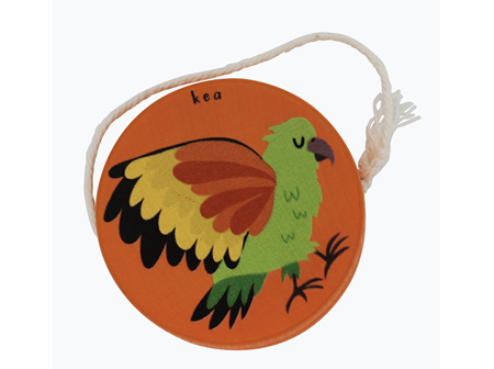 Moana Rd Wooden Yoyo Orange - Kea