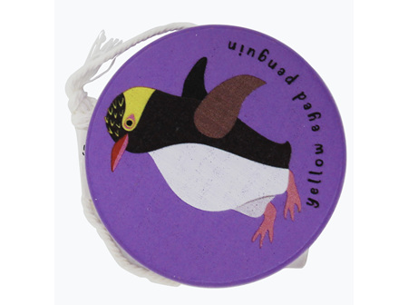 Moana Rd Wooden Yoyo Purple - Yellow Eyed Penguin