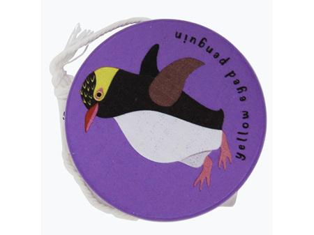 Moana Rd Wooden Yoyo Purple - Yellow Eyed Penguin