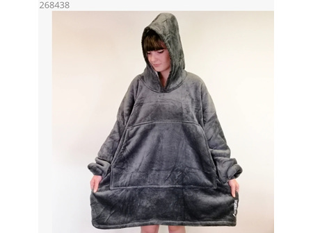Moana Road Adult Mega Hoodie Grey