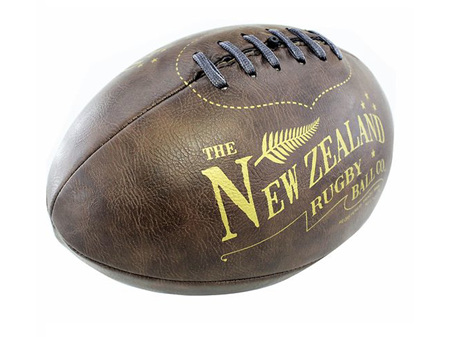 Moana Road Antique Mini Rugby Ball - Inflated or Deflated