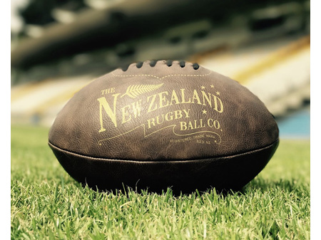 Moana Road Antique Rugby Ball - Inflated or Deflated