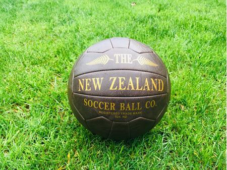 Moana Road Antique Soccer Ball