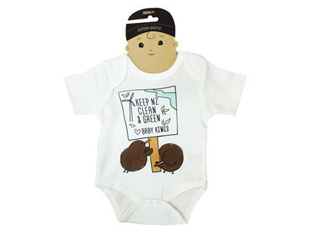 Moana Road Baby Kiwi Onesie 6-12 Months