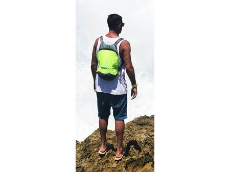 Moana Road Backpack Foldable & Yellow