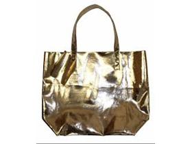Moana Road Bag Ponsonby Metal Tote Gold