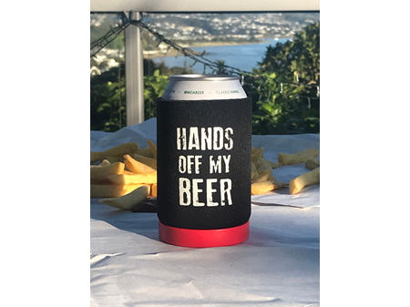 Moana Road Beer Can Holder Hands off my Beers