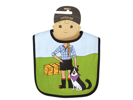 Moana Road Bib Farmer Girl