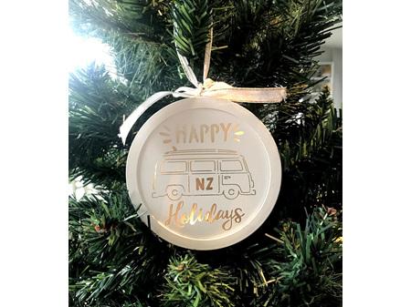 Moana Road Christmas Light Happy Holidays