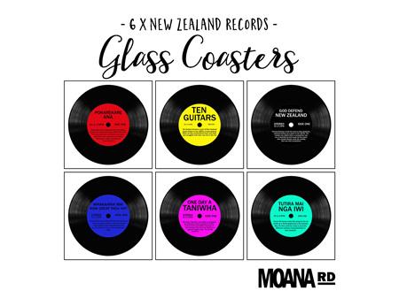 Moana Road Coasters Kiwi Records