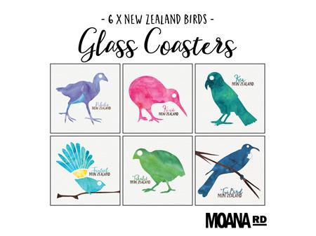 Moana Road Coasters NZ Birds