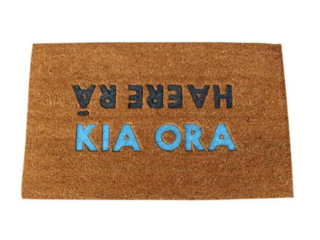 Moana Road Doormat Kia Ora Haere Ra