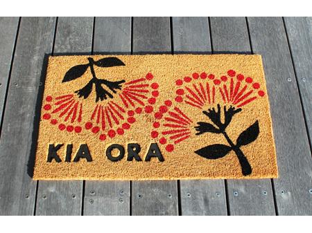 Moana Road Doormat Pohutakawa